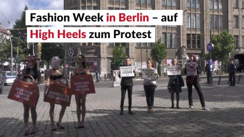Berliner fashion week auf high heels zum protest th 24 for Fashion jobs berlin